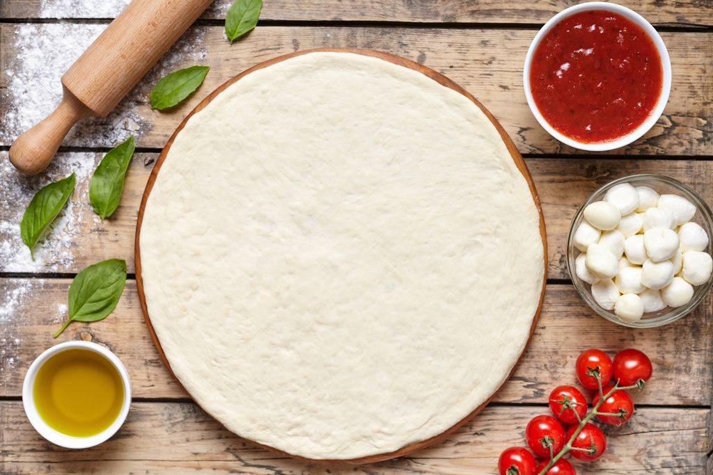 Pasta per la pizza pronta
