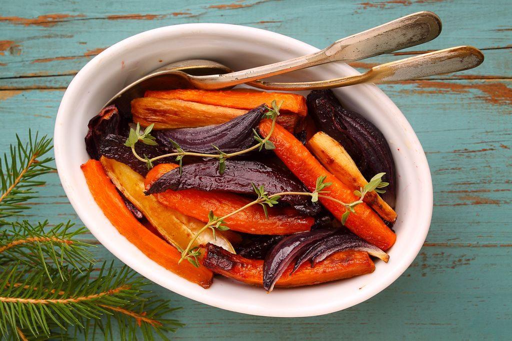 carote e cipolle caramellate