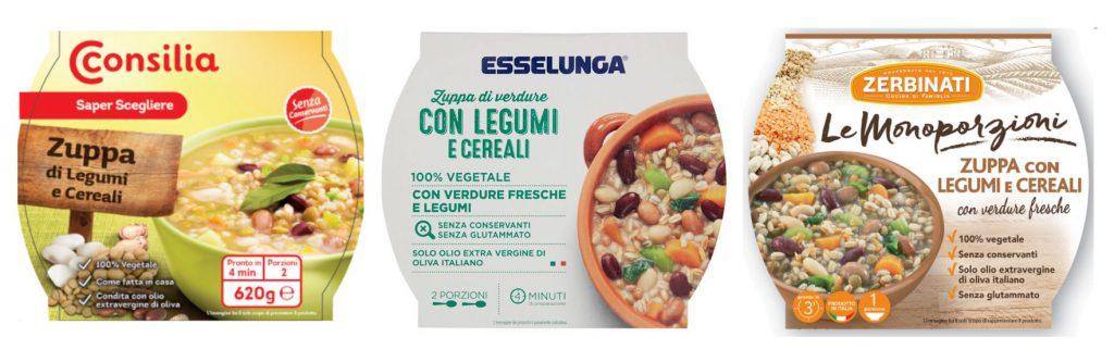 Zerbinati, richiamo zuppa legumi cereali
