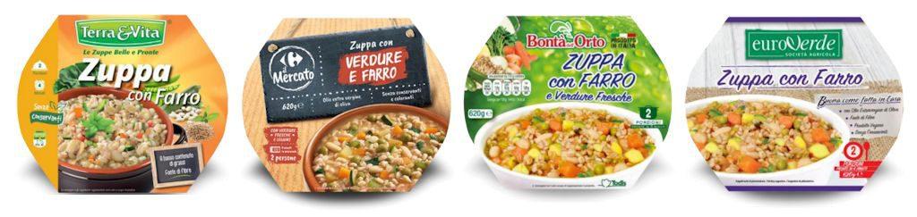 Zuppa con farro e verdure richiamata per rischio botulino da Carrefour, Todis e altri distributori