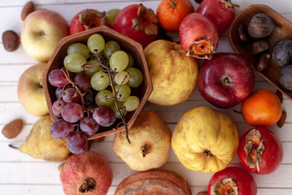 La spesa di novembre, frutta e verdura di stagione
