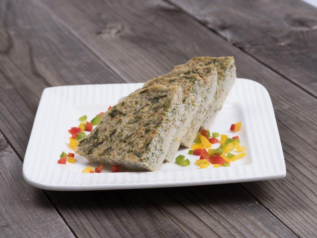 Frittata al vapore con verdure