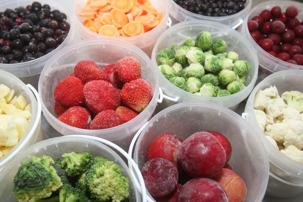 Congelare frutta e verdura, trucchi e consigli
