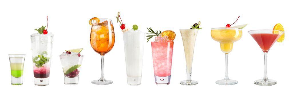 Bicchieri per cocktail, tutti i nomi