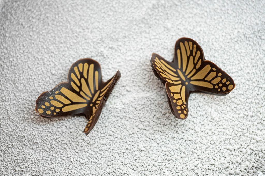 Come fare le farfalle di cioccolato