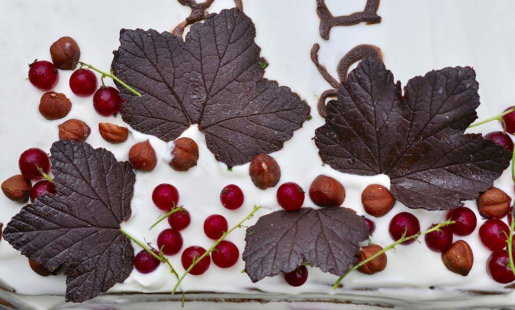 Come fare i petali di cioccolato