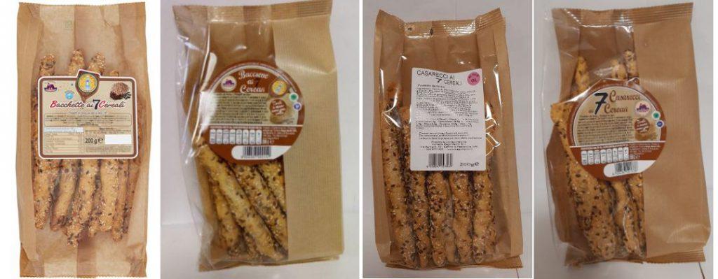 Richiamati Casarecci e Bacchette ai 7 cereali della Forneria Mago Merlini per l'ossido di etilene nel sesamo