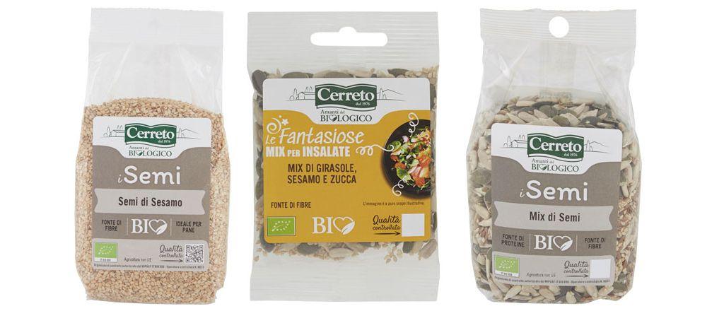 Esselunga richiama tre prodotti Cerreto a base di semi di sesamo