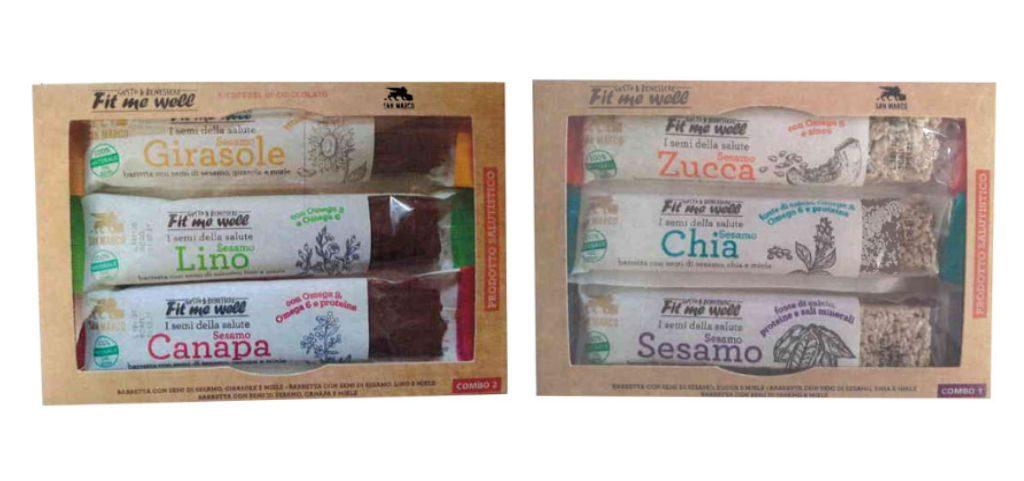 Barrette ai semi e barrette al cioccolato San Marco richiamate dalla vendita per l'ossido di etilene nel sesamo