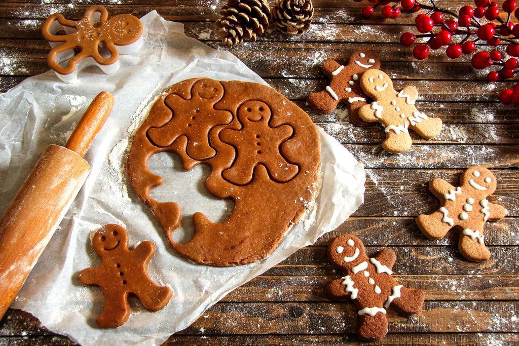 Biscotti di pan di zenzero, Omini di pan di zenzero