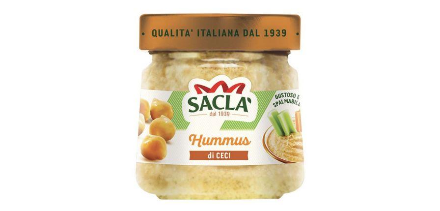 Hummus di ceci Saclà ritirato per la presenza di ossido di etilene