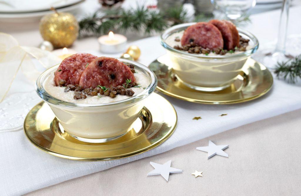 Idee per le ricette di Capodanno: lenticchie, salmone e melograno per il menù