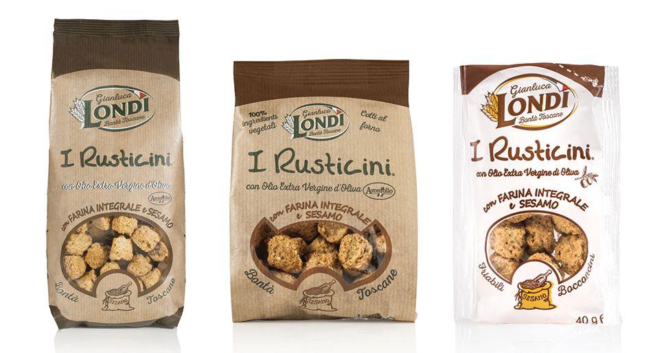 Ritirati i Rusticini con farina integrale e sesamo a marchio G. Londi per l'ossido di etilene