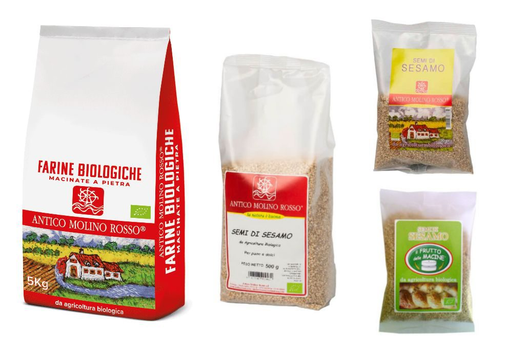 Ritirate le confezioni di semi di sesamo bio di Antico Molino Rosso
