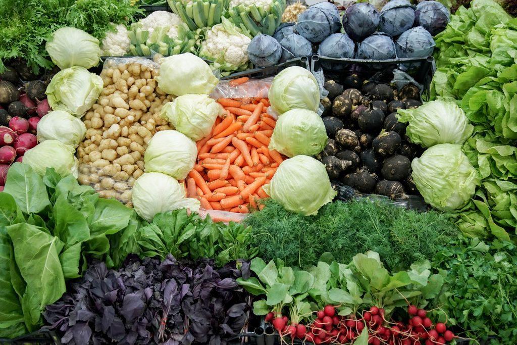 La spesa di gennaio frutta e verdura