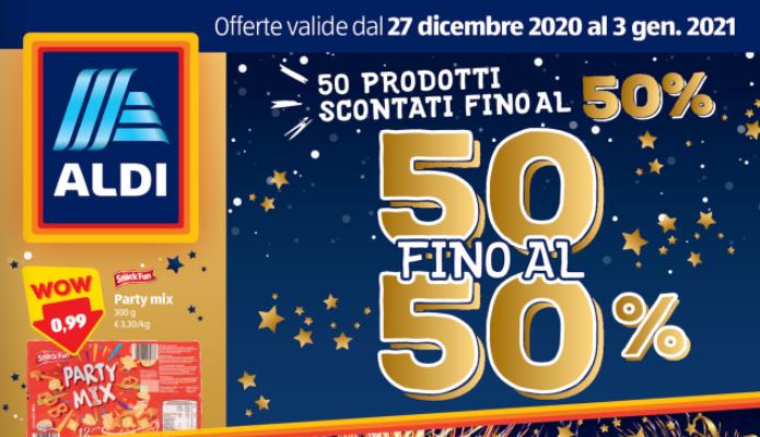 Volantino Aldi, le offerte per la settimana dal 27 dicembre 2020 al 3 gennaio 2021