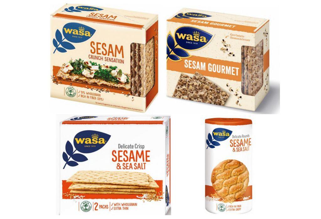 Ritirate le fette croccanti Wasa a causa dell'ossido di etilene nel sesamo
