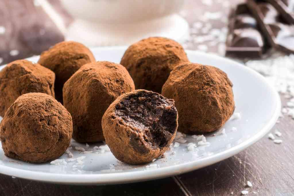 Cioccolatini per San Valentino, i tartufini