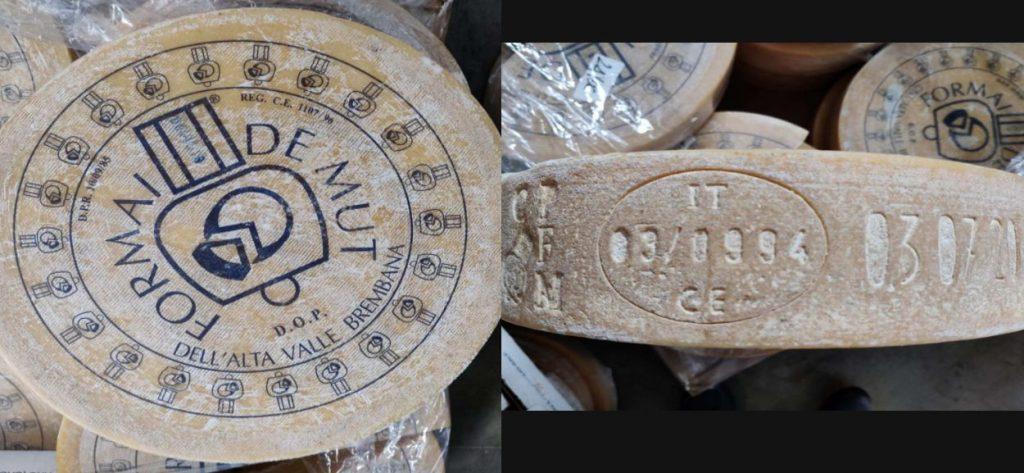 Richiamato il formaggio Formai de Mut dell'Alta Valle Brembana D.O.P. per contaminazione da Listeria