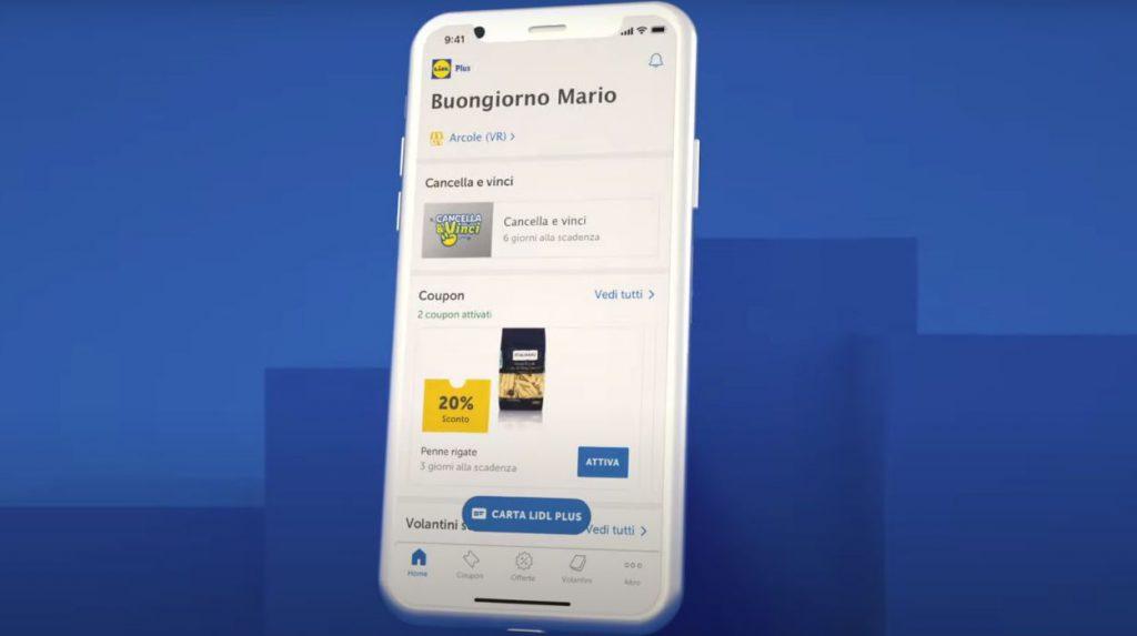 Come usare l'app Lidl Plus