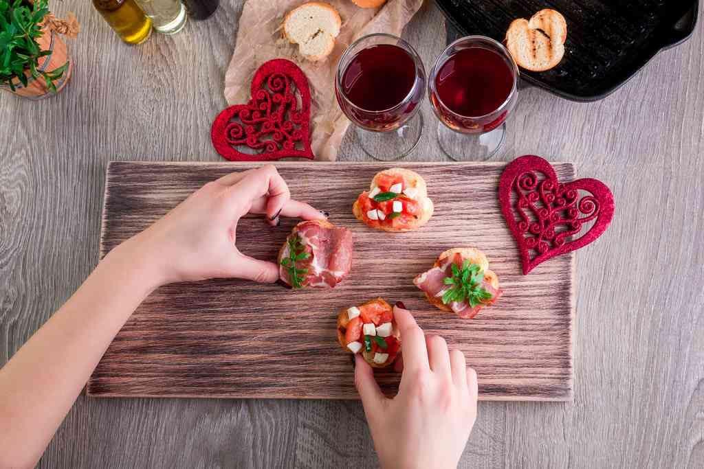 Gli antipasti (afrodisiaci) per la cena di San Valentino