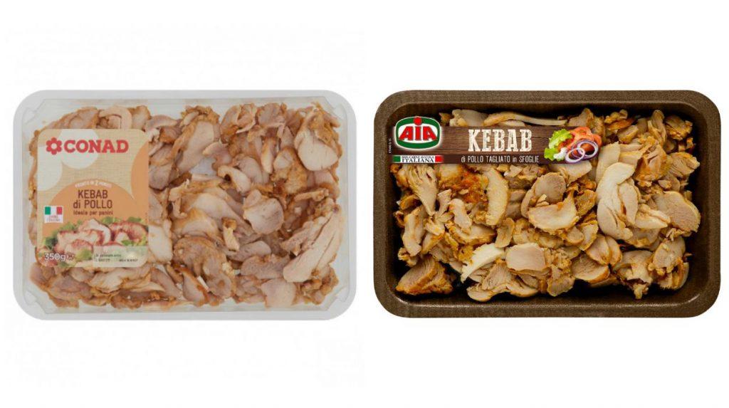 AIA e Conad richiamano il kebab di pollo per possibile presenza di frammenti di plastica