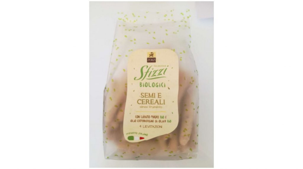 Mini Grissini Semi e Cereali Bio - Sfizzi Valdadige Biologici