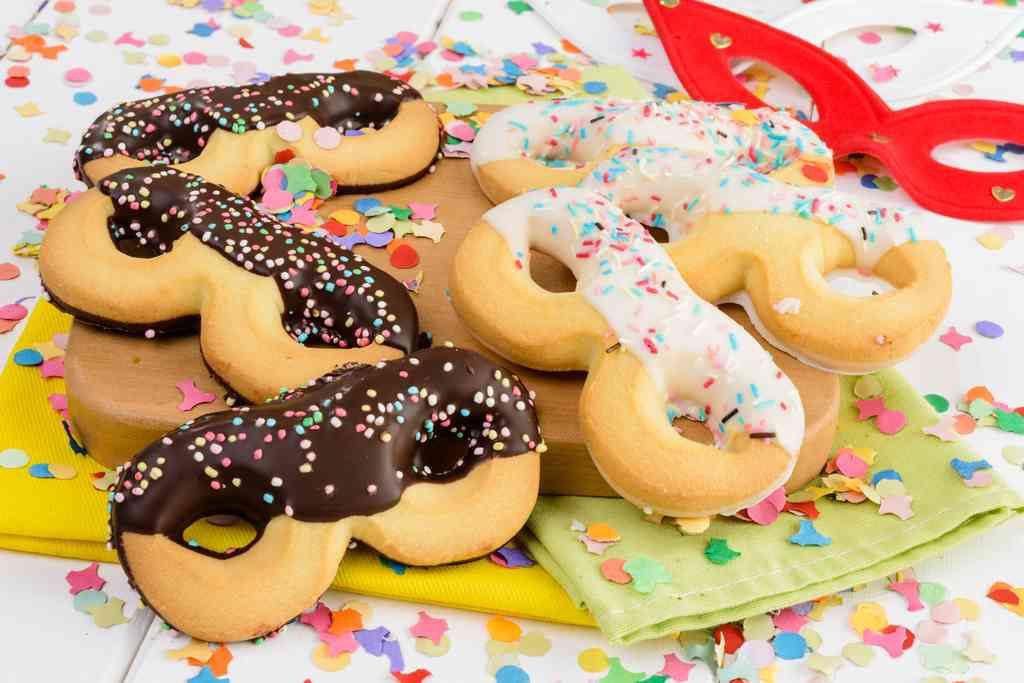 Biscotti di Carnevale per bambini