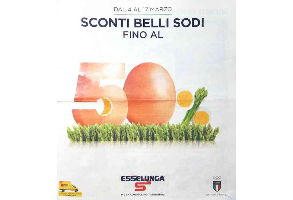 Volantino Esselunga dal 4 al 17 marzo: sconti fino al 50% e prime offerte di Pasqua
