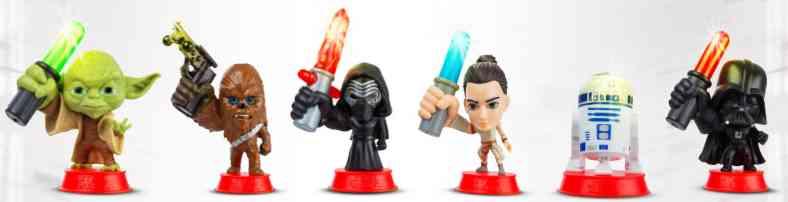 I personaggi di Star Wars Eurospin