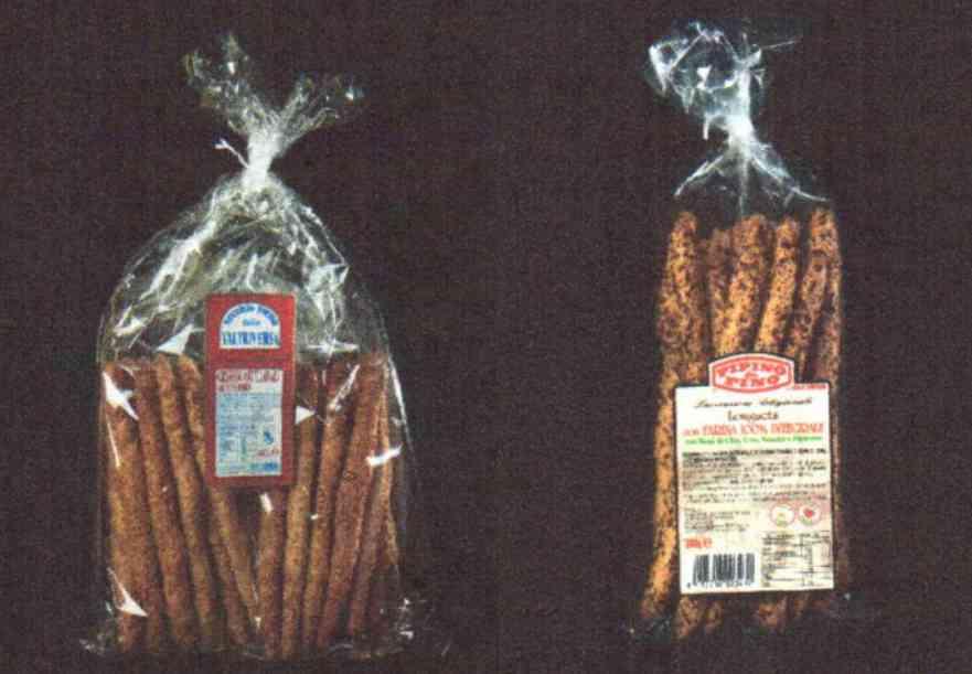 Grissini artigianali al sesamo e Longuets con farina integrale e semi Prato