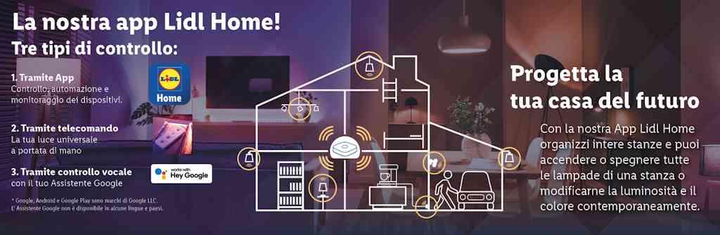 Come funziona l'app Lidl Home