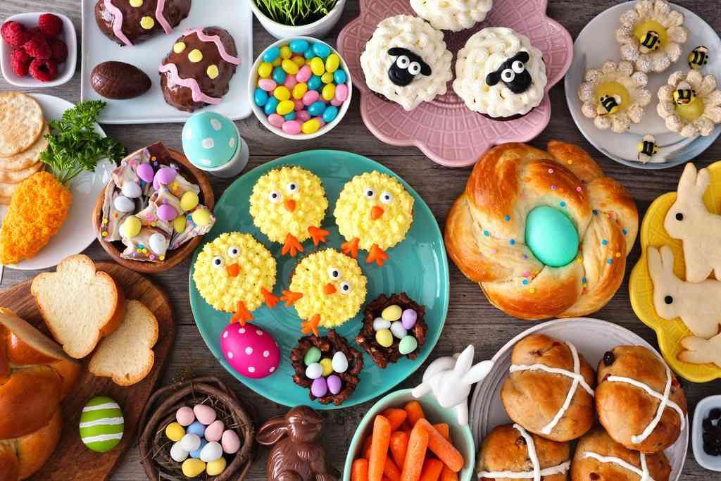 Le ricette di Pasqua per bambini, il menù colorato e adatto alla loro alimentazione