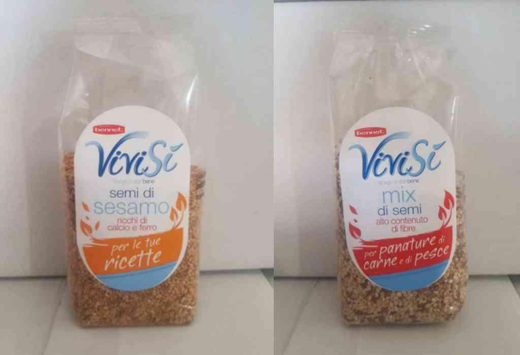 Ritirati i semi di sesamo a marchio Vivisì Bennet e Michelotti & Zei SRL