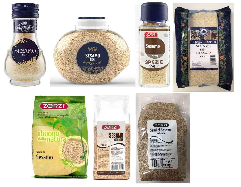 Ritirati i semi di sesamo a marchio Drogheria e Alimentari, VéGé e Zorzi