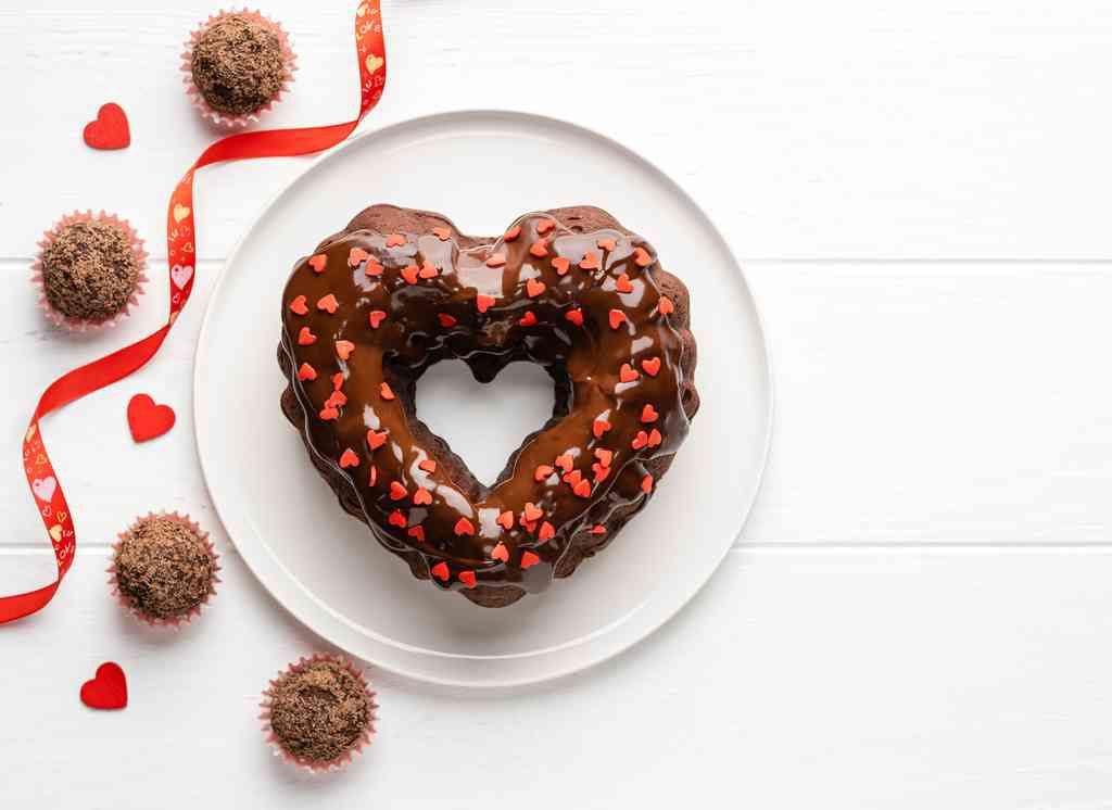 Torte per San Valentino al cioccolato