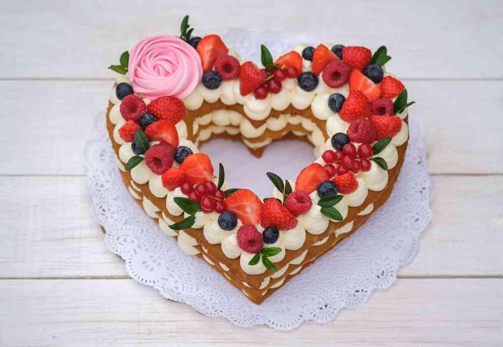 Torte a forma di cuore per San Valentino