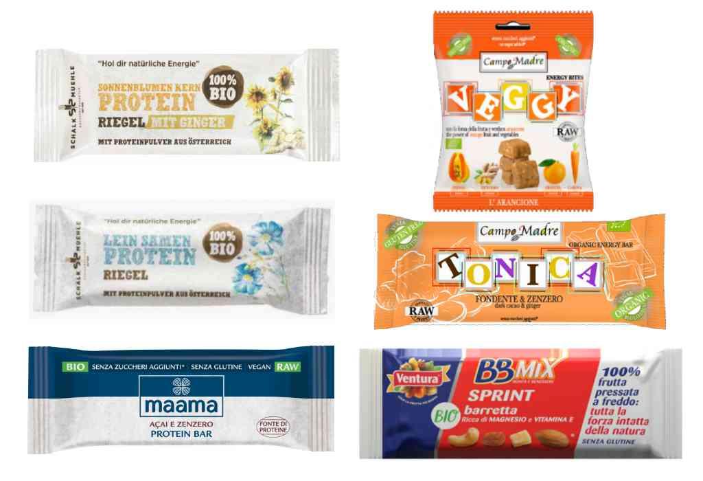 Richiamate barrette snack a causa dell'ossido di etilene nello zenzero: nuovi ritiri