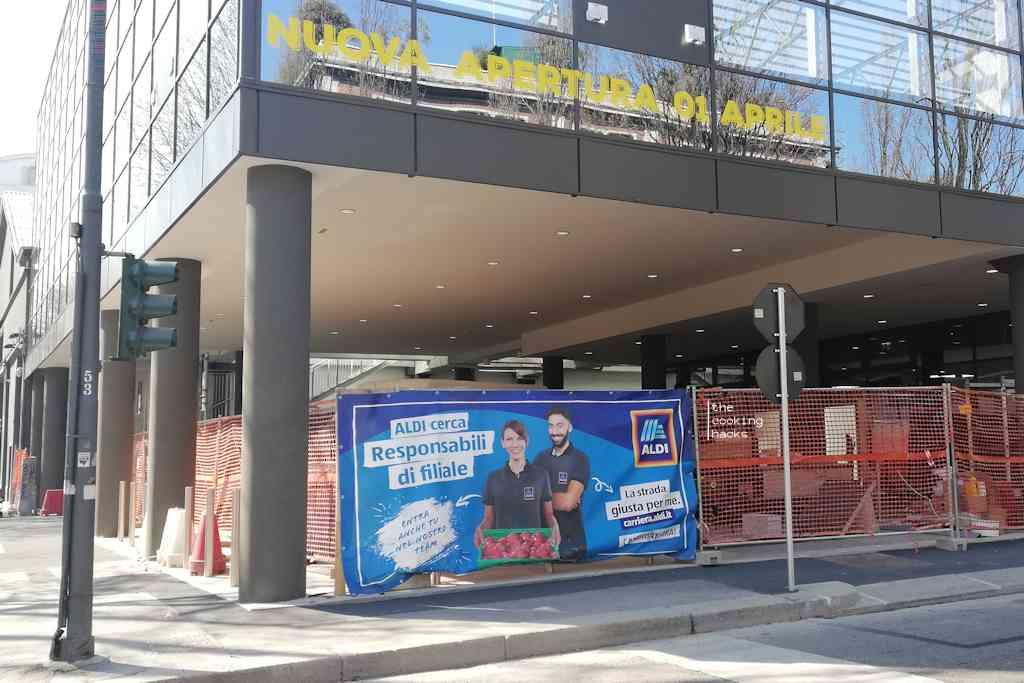Nuova apertura Aldi a Milano: il 1 aprile apre il negozio in Via Valtellina