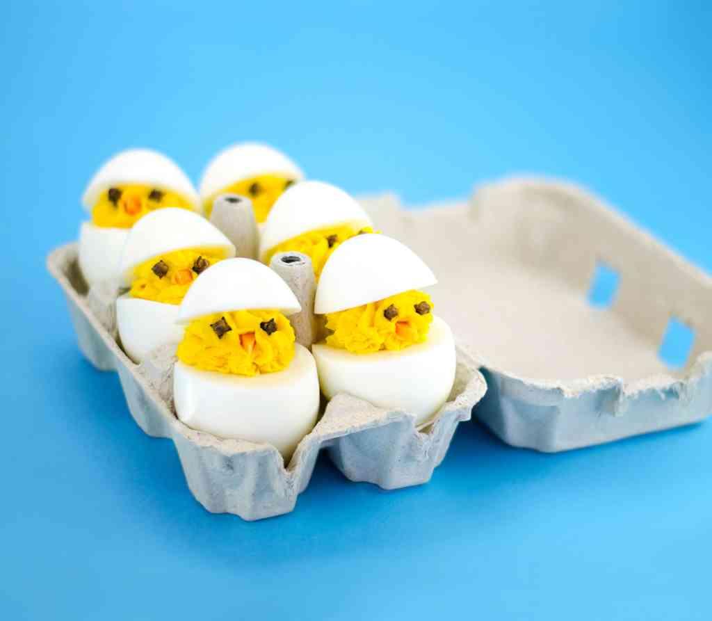 Secondi piatti primaverili, le uova sode
