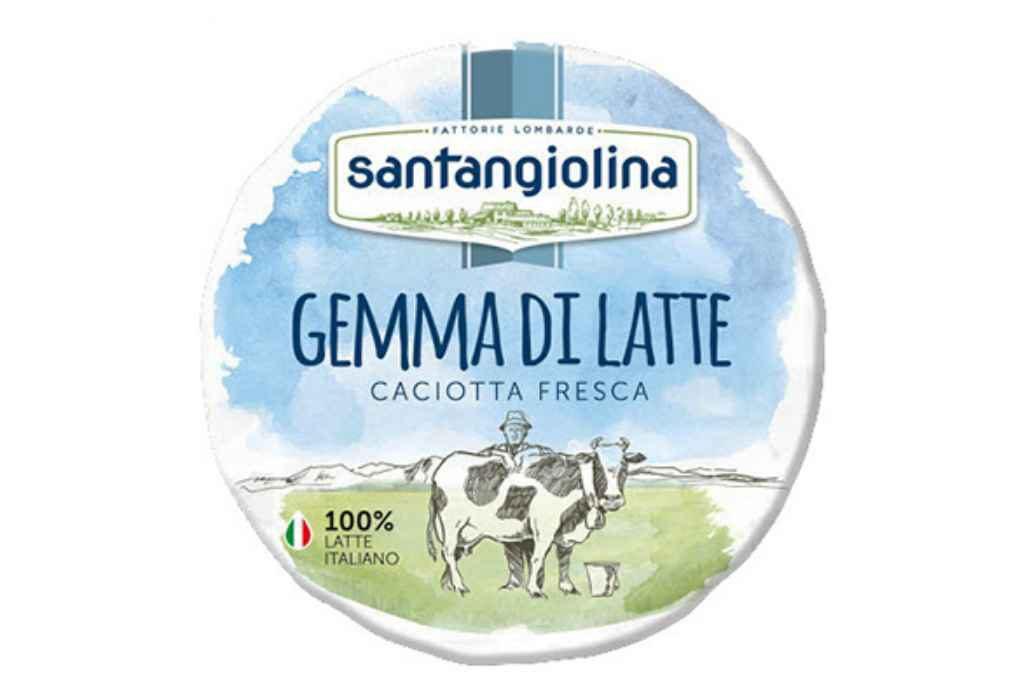 Iperal richiama Gemma di latte Santangiolina per problemi qualitativi