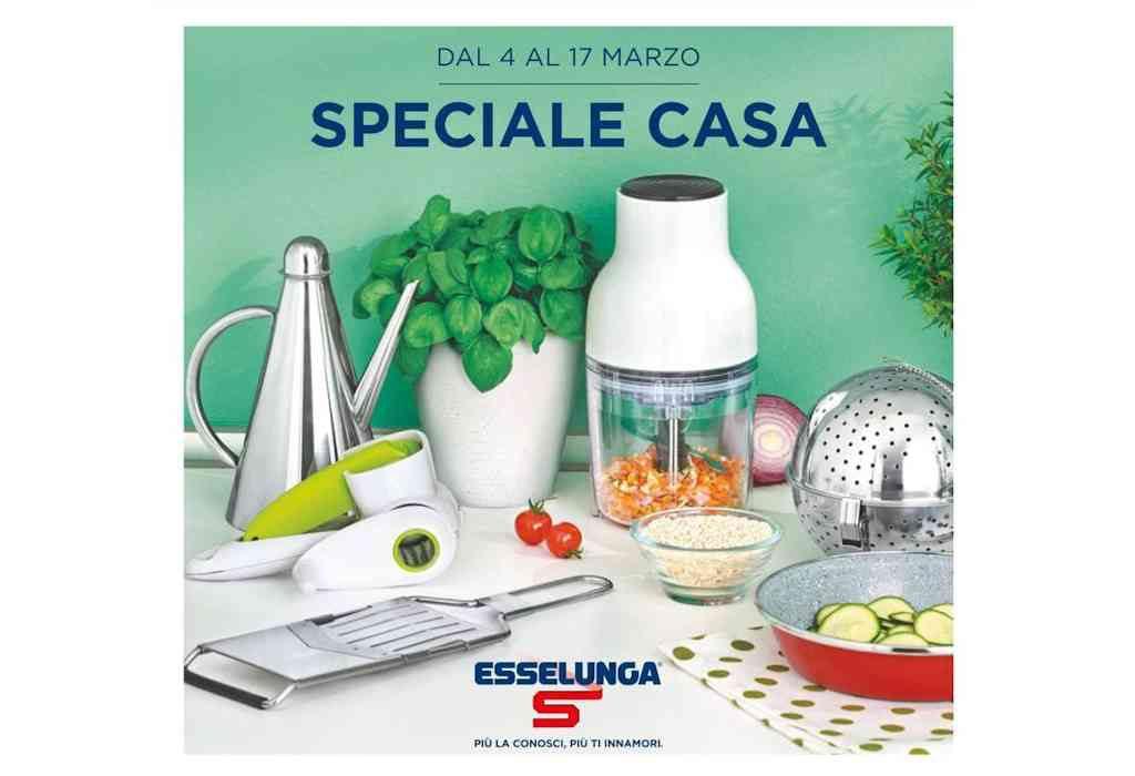 Volantino Esselunga dal 4 al 17 marzo: le offerte dello Speciale Casa