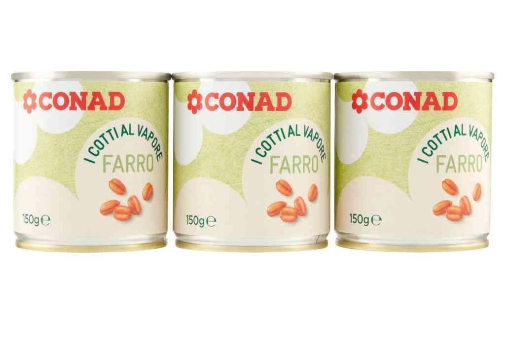 Conad richiama il farro Cotti al Vapore per prodotto non corrispondente