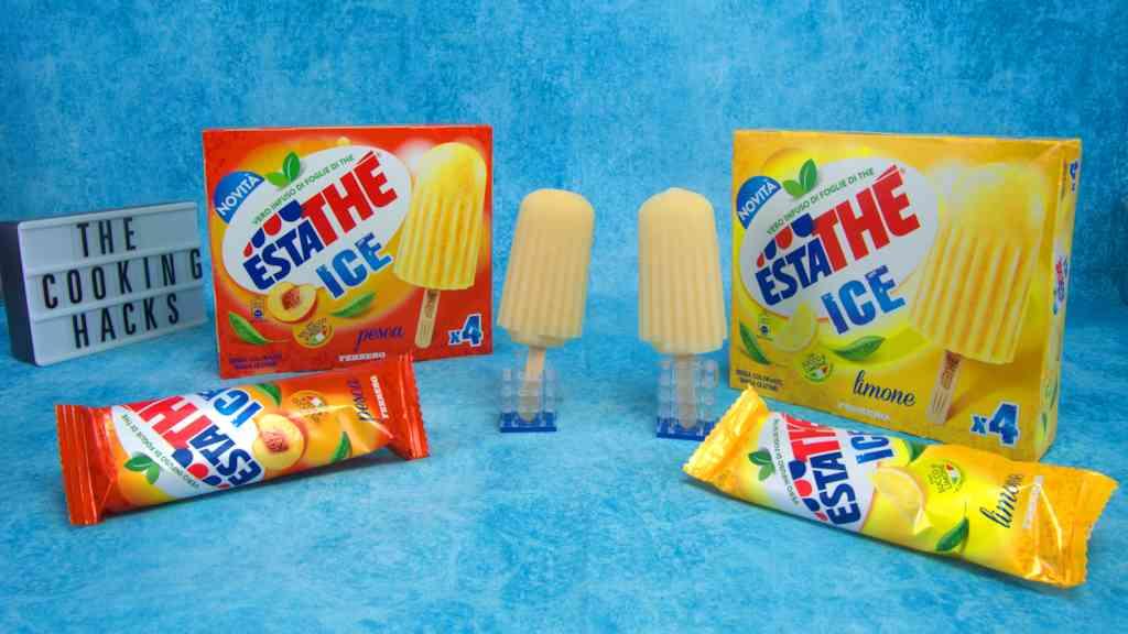 Estathe Ice al limone e alla pesca 2021: dove trovare il gelato al the, calorie, prezzo e la nostra prova