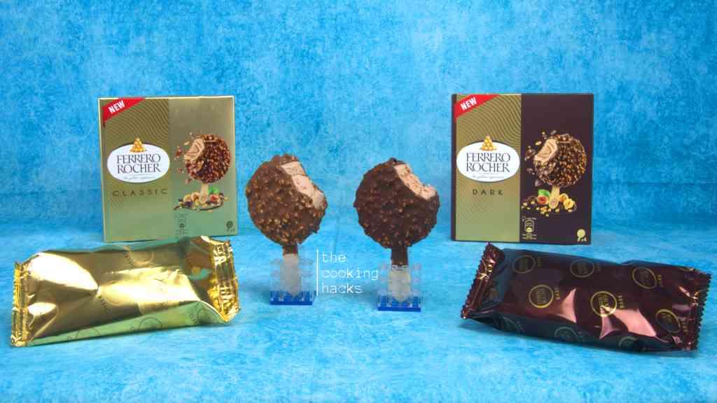 Ferrero Rocher, il gelato in stecco Classic e Dark: prova assaggio
