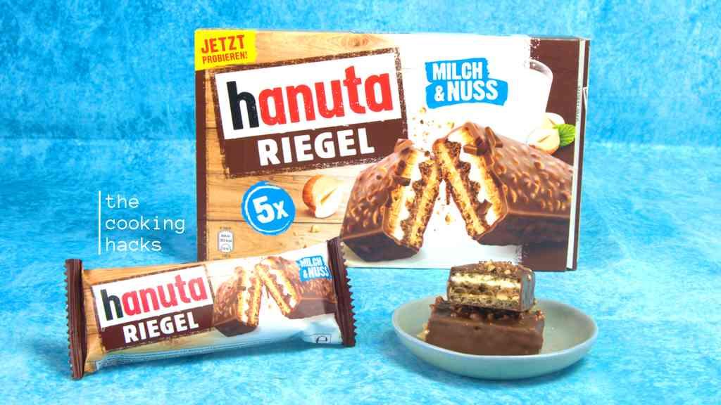 Hanuta Riegel Ferrero: la prova
