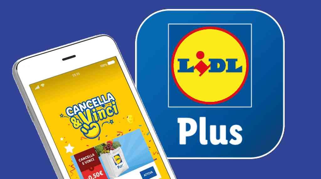 Lidl Plus Cancella e Vinci: i premi