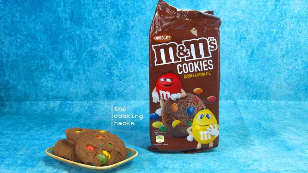 M&M's Cookies Double Chocolate: la prova