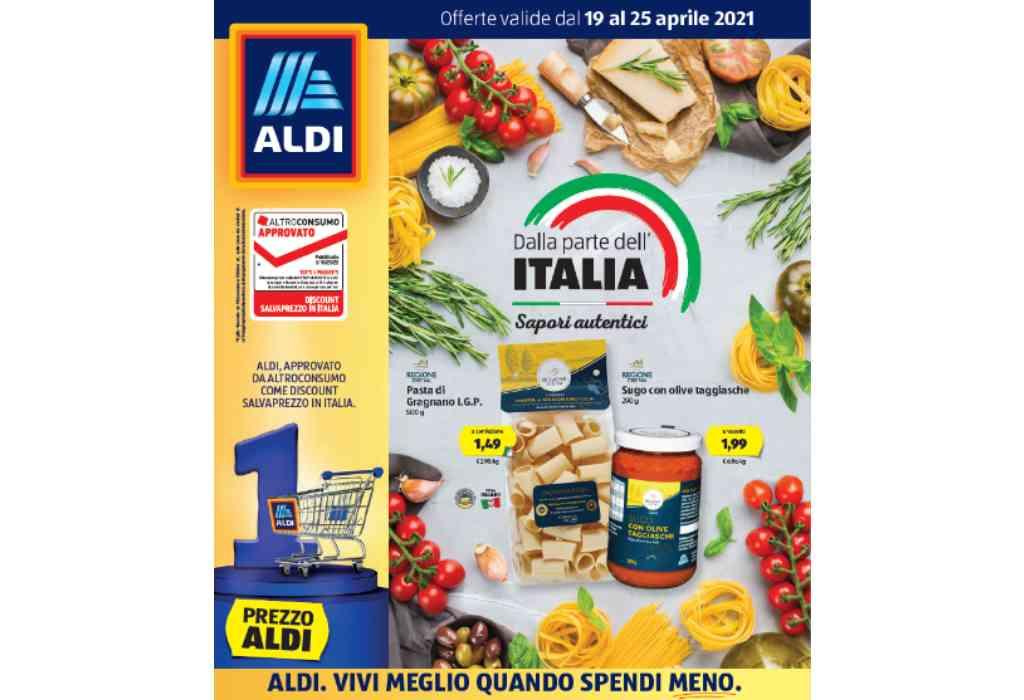 Volantino Aldi dal 19 al 25 aprile 2021: offerte sui prodotti italiani