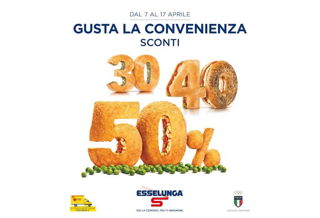 Volantino Esselunga dal 7 al 17 aprile: sconti del 30%, 40% e 50%